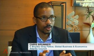 Chris Brummer Atlantic Council Channel NewsAsia