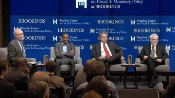 Professor Brummer Speaks at Brookings with David Wessel and Barry Eichengreen